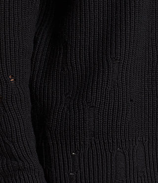 Men's Ivann Crew Jumper (Black) - Image 2