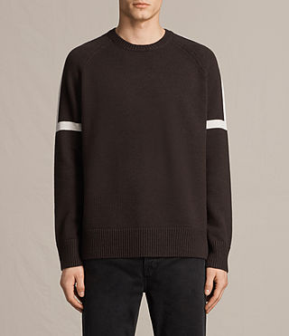 Men's Trakk Crew Jumper (Maroon)