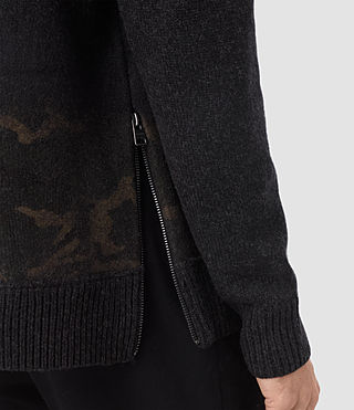 Hombre Barra Crew Sweater (CINDER BLACK CAMO) - product_image_alt_text_2