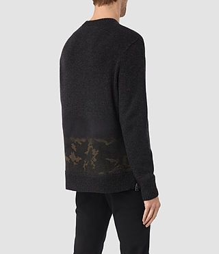 Hombre Barra Crew Sweater (CINDER BLACK CAMO) - product_image_alt_text_4