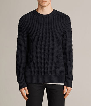 Mens Ren Crew Sweater (INK NAVY) - Image 1