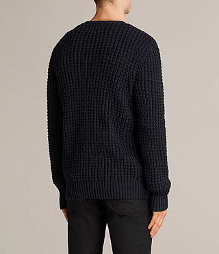 Mens Ren Crew Sweater (INK NAVY) - Image 4