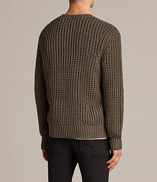 Herren Ren Crew Pullover (BATTLE BROWN) - Image 4