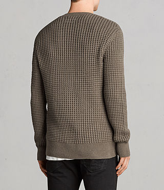 Men's Kee Crew Jumper (Olive Green) - Image 4