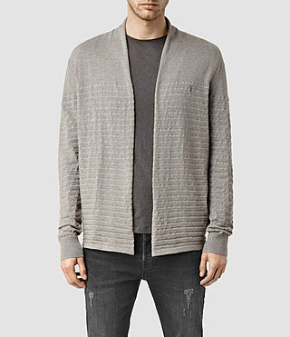 Men's Wherry Cardigan (Military Grey)