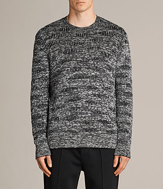 Men's Sven Crew Jumper (Black) - Image 1
