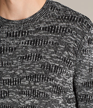 Men's Sven Crew Jumper (Black) - Image 2
