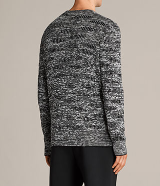 Men's Sven Crew Jumper (Black) - Image 4