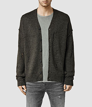 Men's Ektarr Cardigan (Khaki Brown)
