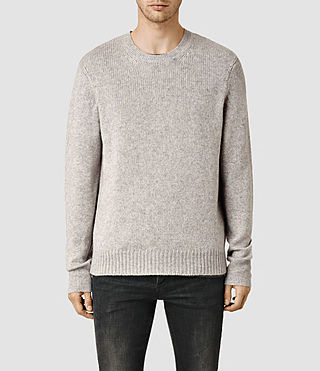 Men's Arley Crew Jumper (Grey Marl)
