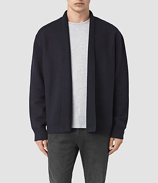 Mens Wregan Cardigan (INK NAVY)