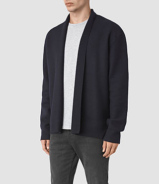 Herren Wregan Cardigan (INK NAVY) - product_image_alt_text_3