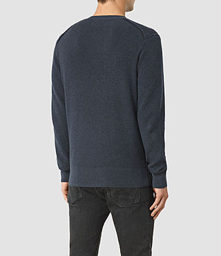 Hommes Rothay Crew Jumper (Workers Blue) - product_image_alt_text_4