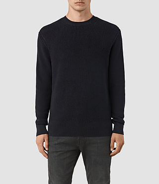 Mens Rothay Crew Sweater (INK NAVY)