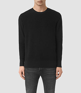 Mens Rothay Crew Sweater (Black)