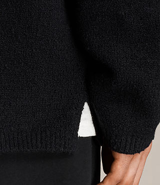 Uomo Maglione Arinn (Black) - product_image_alt_text_2