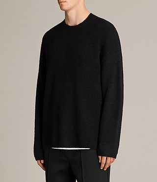 Uomo Maglione Arinn (Black) - product_image_alt_text_3