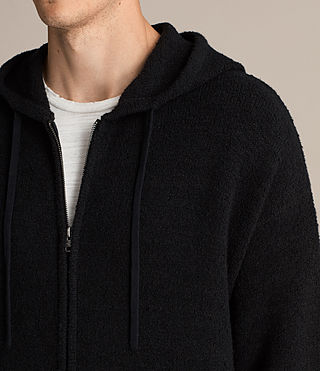 Men's Arinn Zip Hoody (Black) - Image 4