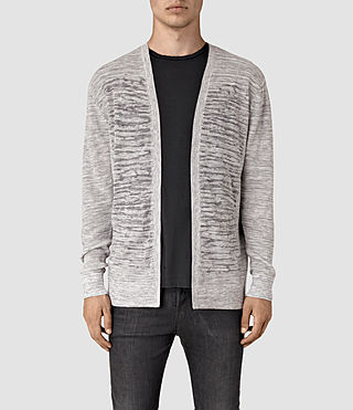 Mens Kamburn Cardigan (Grey Marl)