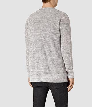 Uomo Kamburn Cardigan (Grey Marl) - product_image_alt_text_3