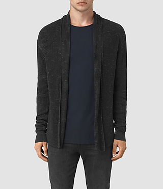 Men's Zellern Cardigan (Cinder Black Marl) -