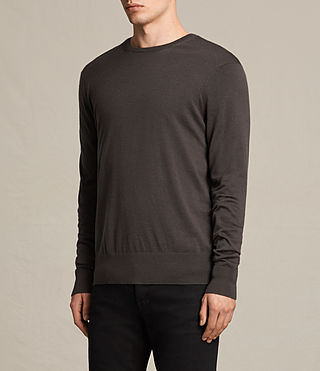 Hombres Jersey Fors Merino (Military Brown) - product_image_alt_text_2
