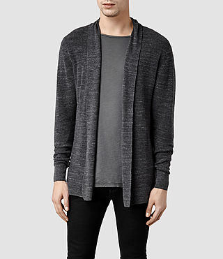 Mens Furn Cardigan (Charcoal Marl)