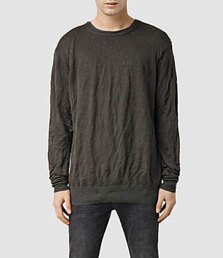 Men's Metor Crew Jumper (Khaki Brown)