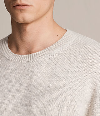 Hombre Arlo Crew Sweater (ECRU WHITE) - product_image_alt_text_2