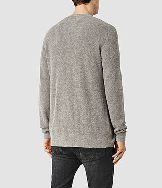 Uomo Tine Cardigan (Military Grey) - product_image_alt_text_3