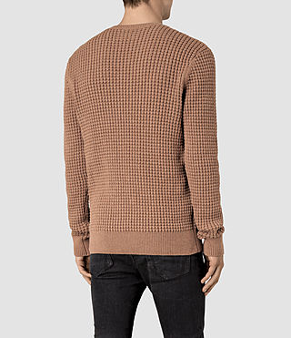 Hombre Kargg Crew Sweater (VNTG PINK MARL) - product_image_alt_text_3