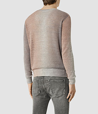 Mens Solstice Crew Sweater (QUTZ PNK/STEPL GRY) - product_image_alt_text_3
