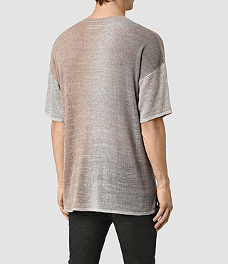 Men's Solstice Knitted T-Shirt (QUTZ PNK/STEPL GRY) - product_image_alt_text_4
