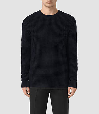 Hombre Tornn Crew Sweater (INK NAVY) - product_image_alt_text_1