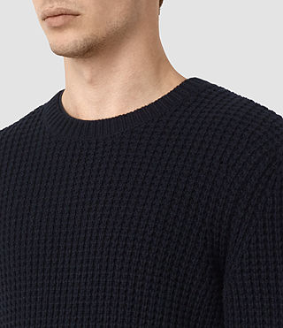 Hombres Tornn Crew Jumper (INK NAVY) - product_image_alt_text_2