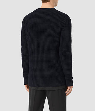 Hombres Tornn Crew Jumper (INK NAVY) - product_image_alt_text_5