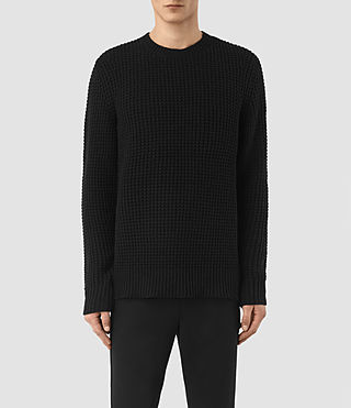 Men's Tornn Crew Jumper (Black) -