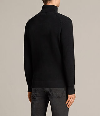 Mens Trias Roll Neck (Black) - product_image_alt_text_4