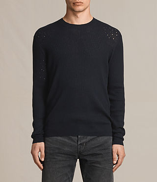 Hombre Jace Crew Sweater (INK NAVY) - product_image_alt_text_1