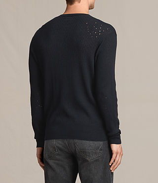 Men's Jace Crew Jumper (INK NAVY) - Image 4