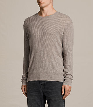 Hombre Jersey Jace (PUTTY GREY MARL) - product_image_alt_text_3