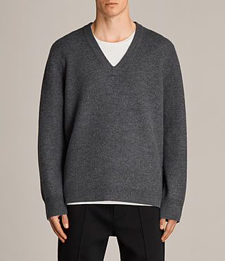 wregan v neck jumper