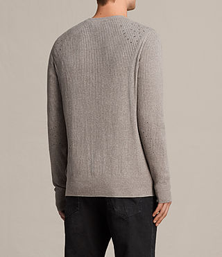 Men's Jace Cardigan (PUTTY GREY MARL) - Image 4