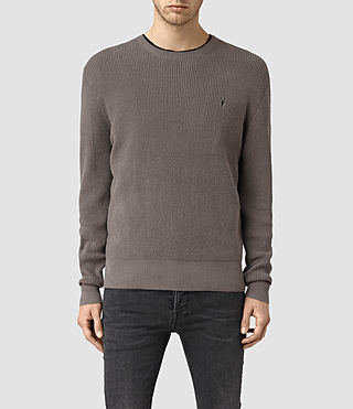 Uomo Trias Crew Jumper (Slate Grey)