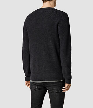 Mens Trias Crew Sweater (Cinder Marl) - product_image_alt_text_3