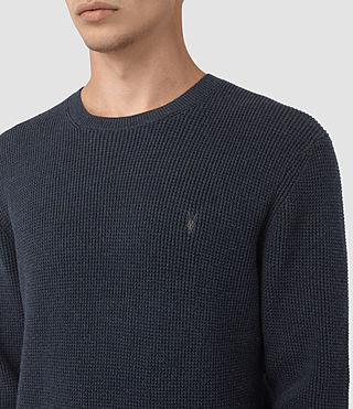 Hommes Trias Crew Jumper (Workers Blue) - product_image_alt_text_2