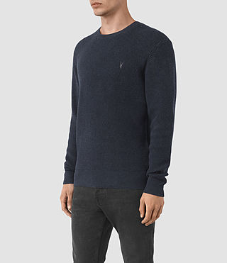 Hommes Trias Crew Jumper (Workers Blue) - product_image_alt_text_3