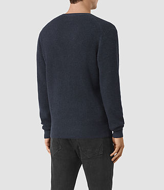 Hommes Trias Crew Jumper (Workers Blue) - product_image_alt_text_4