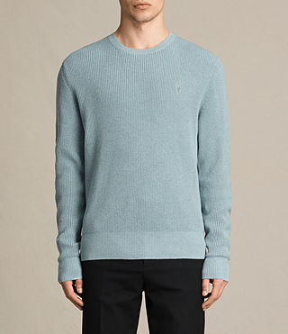 Men's Trias Crew Jumper (NORDIC BLUE MARL) -