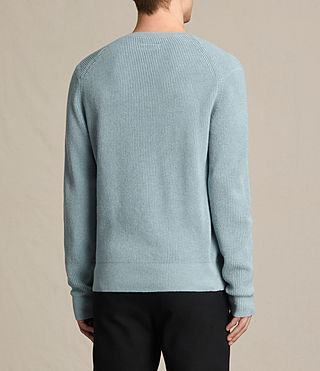 Mens Trias Crew Sweater (NORDIC BLUE MARL) - product_image_alt_text_4